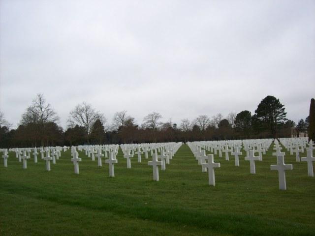 Amerikanischer Friedhof in Colleville