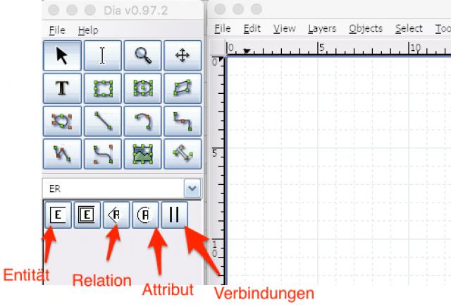 ERM mit DIA (Diagramm-Tool)   Werner-von-Siemens-Gymnasium