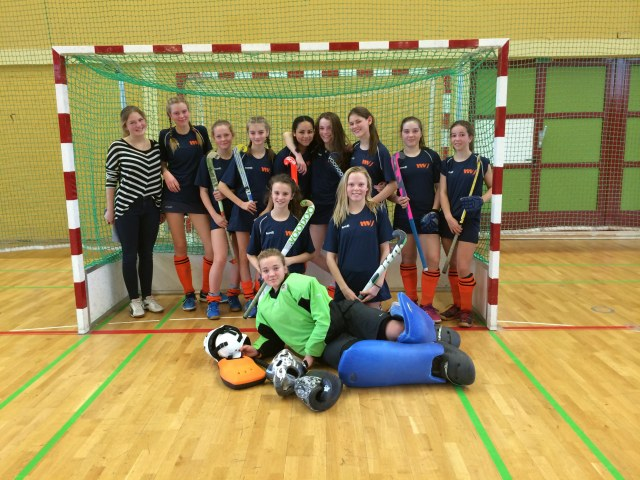 Hockey Schulmannschaft Mädchen 2016