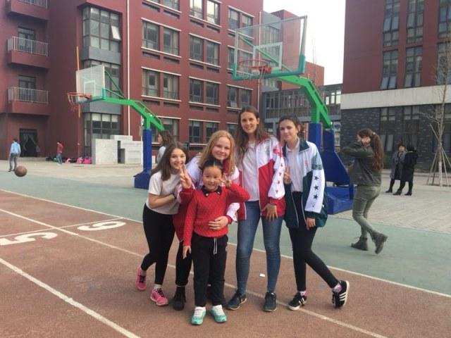 Besuch einer Grundschule in Peking