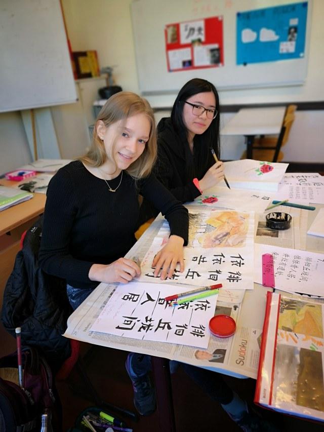 Chinesischunterricht