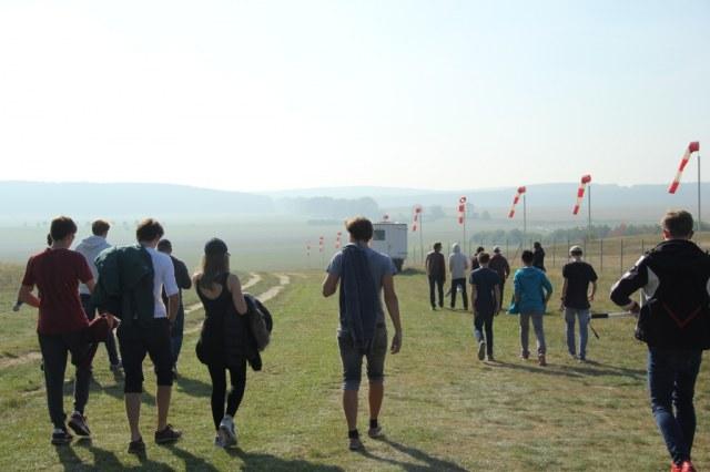 Seminarkurs Fliegen am WvS