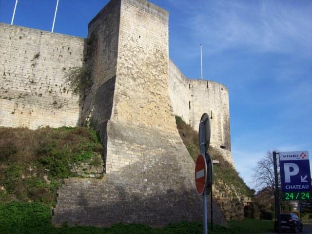 Stadtmauer von Caen